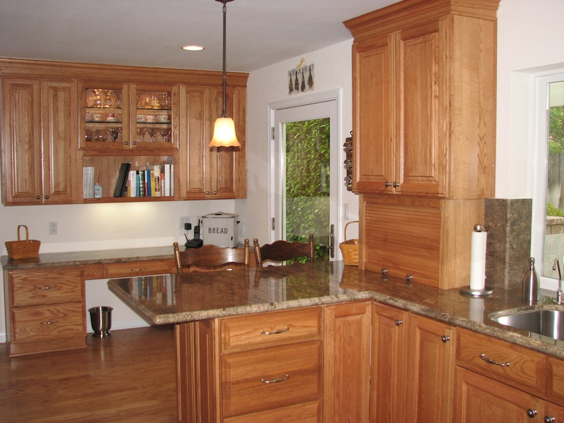 Prewitt kitchen california kitchen creations Kitchen design with light oak cabinets